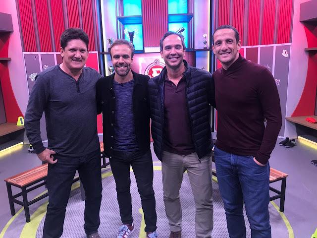 'Boleiragem' recebe Roberto Gaúcho, ex-companheiro de ataque de Ronaldo Fenômeno, e o campeão do mundo Belletti