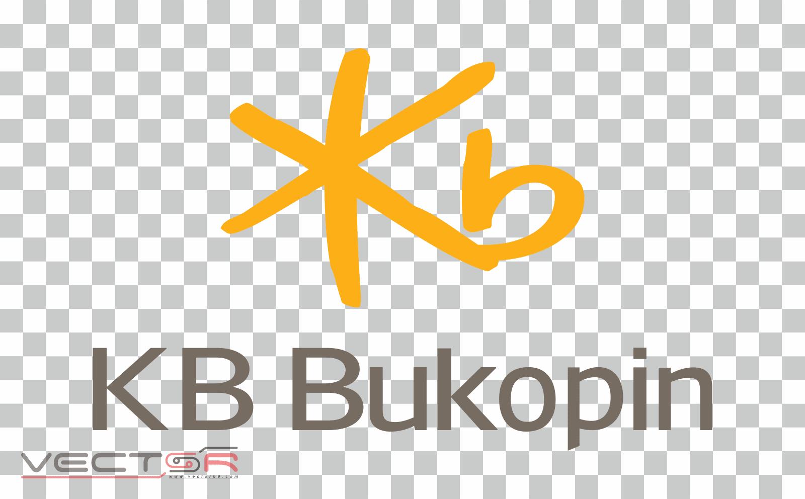 Bank KB Bukopin (2021) Vertical Logo - Download .PNG (Portable Network Graphics) Transparent Images