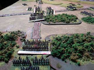 Allied infantry arrive on the flank to bolster the defence