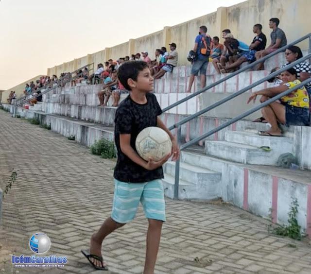 Projeto de retomada do futebol de 11 empolga torcedores em Caraúbas, RN