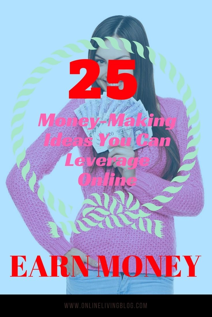 25 Money-Making Ideas You Can Leverage Online