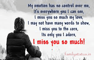 miss you messages for love