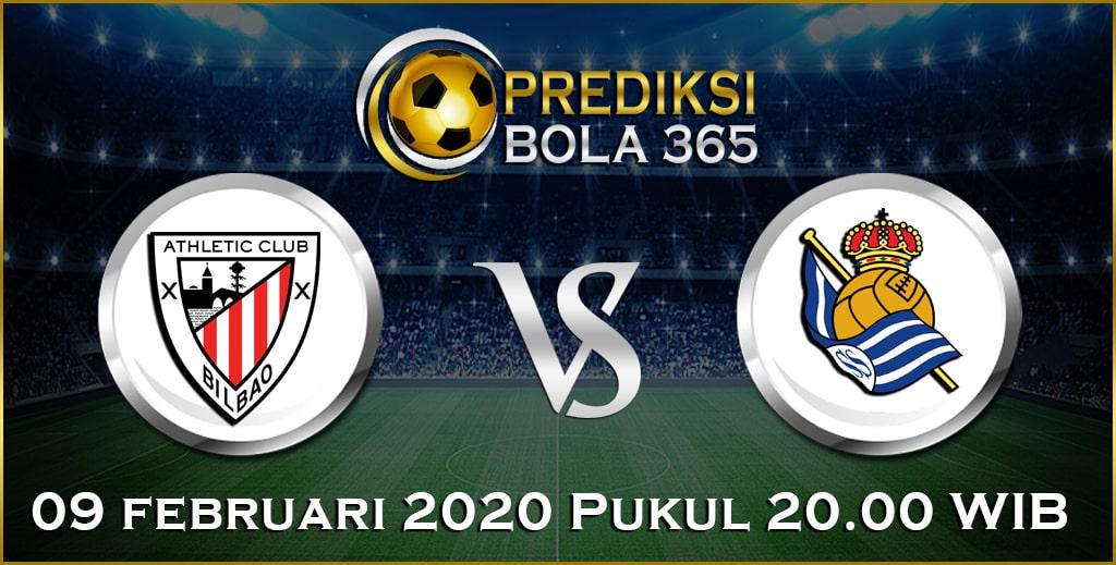 Prediksi Skor Bola Real Sociedad vs Ath.Bilbao 09 February 2020