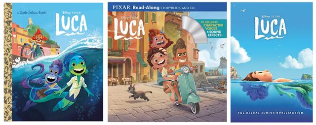 Pixar Luca Books