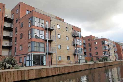 New Islington Manchester UK.