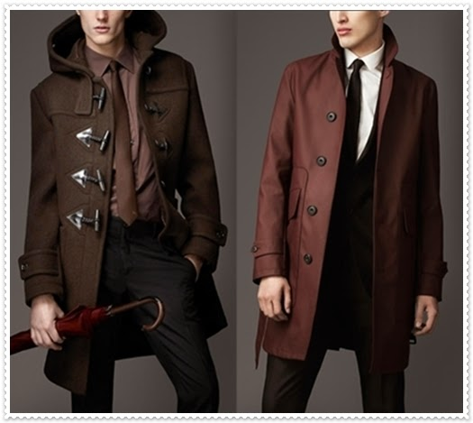 Burberry Wintermantel 2014 für Herren