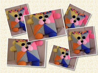 giggles crochet flowerumi bear pattern