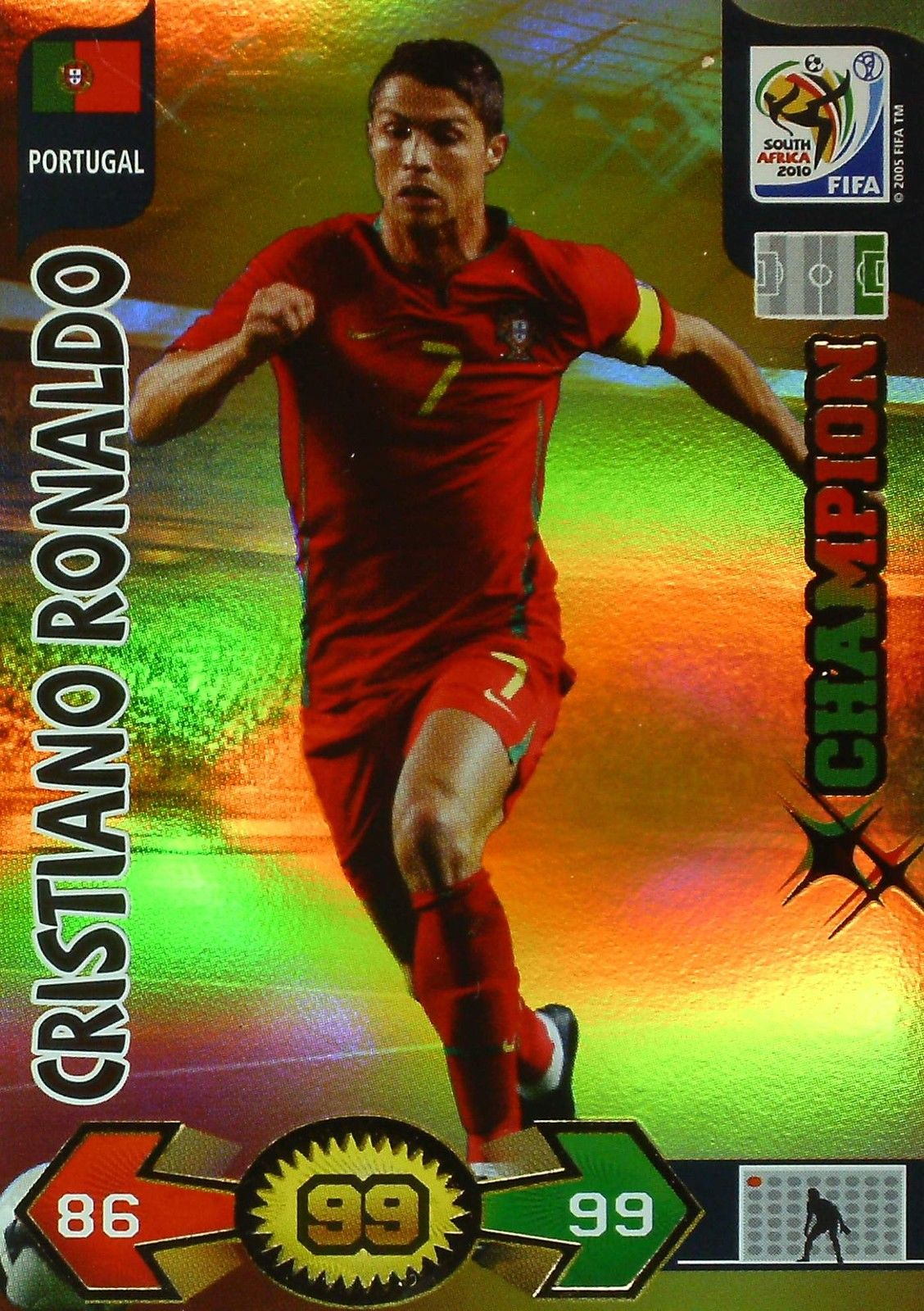 Panini Adrenalyn XL FIFA World Cup 2010 tarjetas comerciales Sudáfrica ** ** Tarjeta de Pick