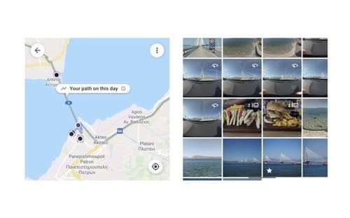 Google has added a timeline feature to its photo service