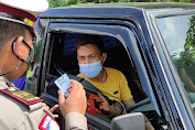 Penyekatan di Perbatasan PurbaIingga, Sejumlah Kendaraan Diputar Balik