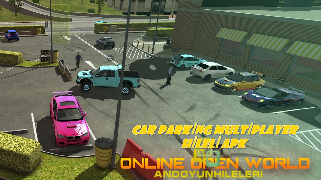 Car Parking Multiplayer Hileli APK - Krom 2000 Hp İsim Hileli APK