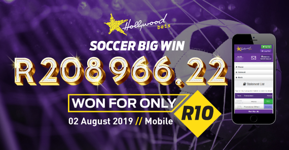 Debts Paid off thanks to R10 Soccer Bet
