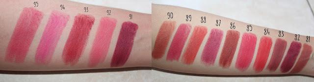 Warna Lipstik Purbasari