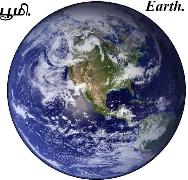 பூமி அறிவியல் - Earth Science.