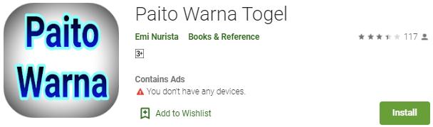 Aplikasi Paito Warna Togel Untuk Ponsel Android