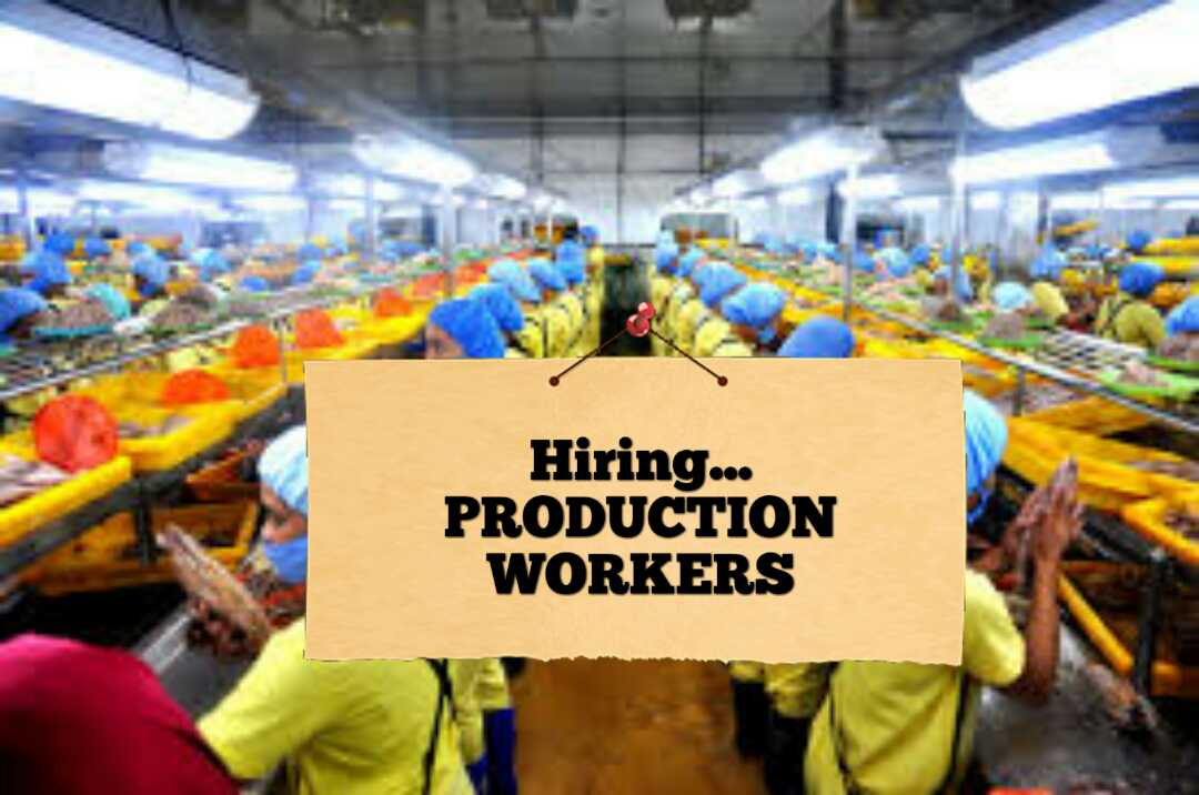 local job hiring  production workers for valenzuela city