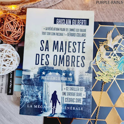 PurpleRain Livre : Sa majesté des ombres • Ghislain Gilberti