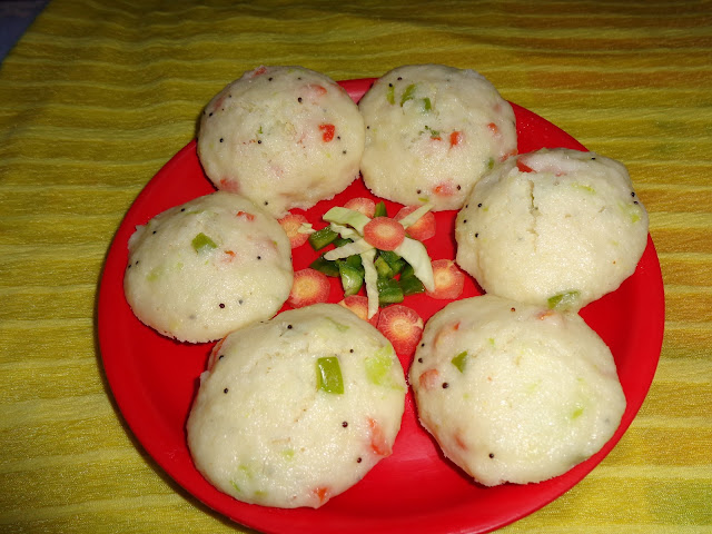 Vegetable idli recipe - Healthy Breakfast