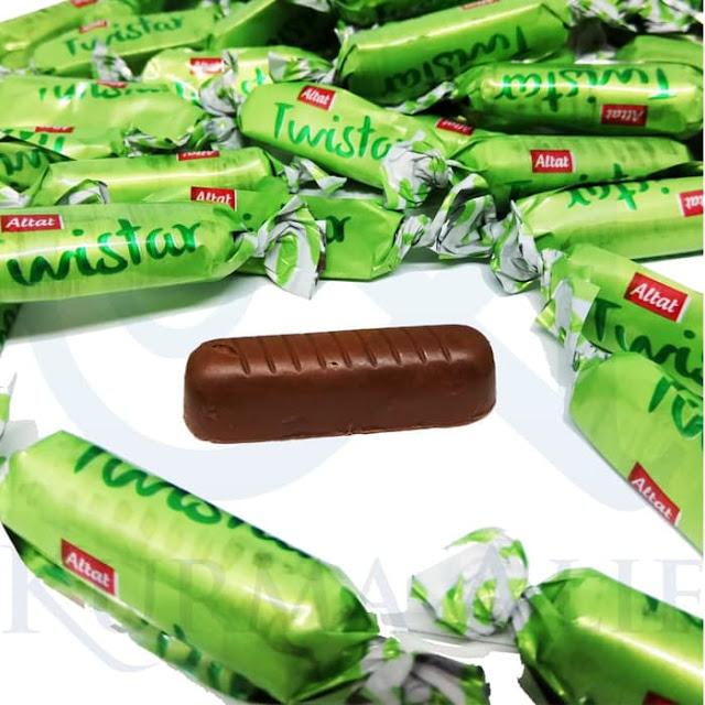 Cokelat Arab Twistar 1 Kg, oleh oleh haji