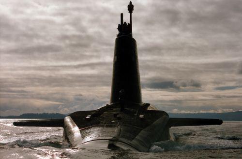 Kapal selam nuklir Inggris HMS Vigilant
