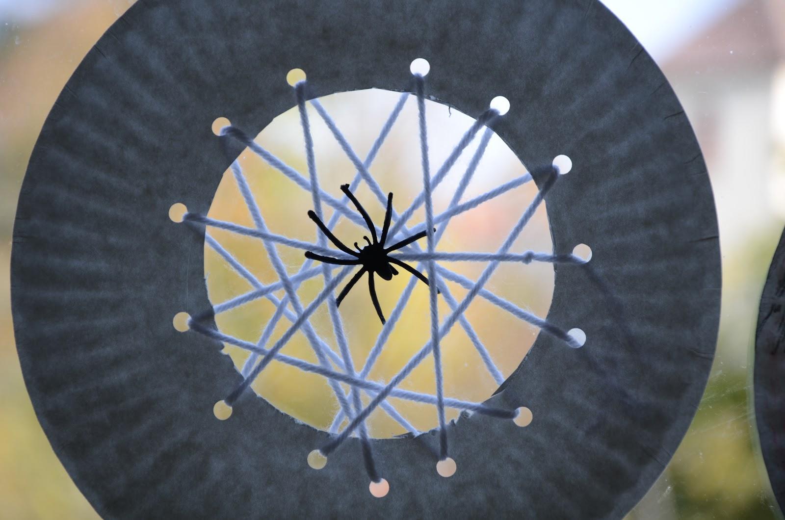 No Wooden Spoons Paper Plate Spiderwebs Kid Craft