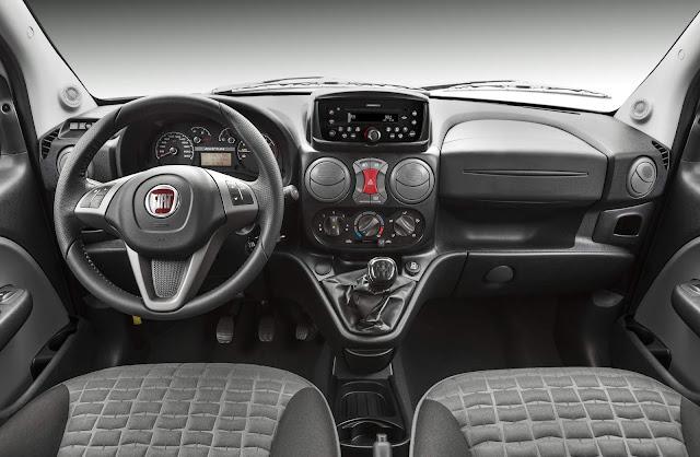 Fiat Doblò 2017 Adventure - interior