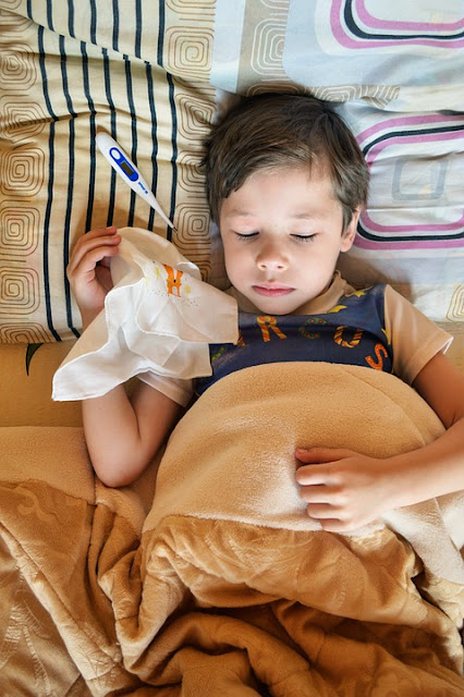 Common cold in kids
