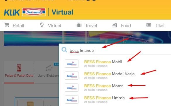 cara cek tagihan bess finance
