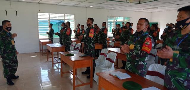 Personel Jajaran Kodim 0207/Simalungun Laksanakan Pendaya Gunaan Koramil Model