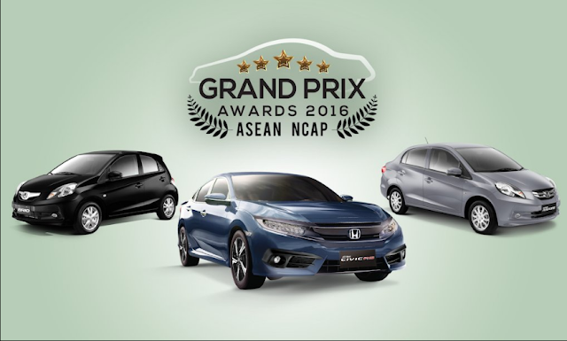 'Grand Prix 2016' Honda Scores Big At ASEAN NCAP