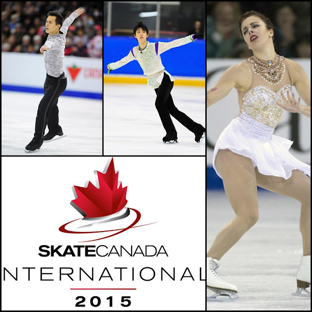 ICE STYLE.....ISU Grand Prix of Figure Skating Skate Canada International 2015--Figure Skating Costumes Highlights: Men and Ladies