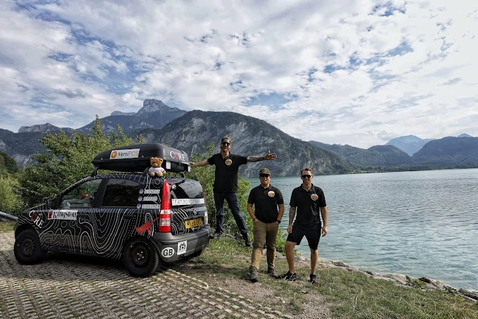 Kingston Technology apoya al equipo Team No Reservations en el Mongol Rally