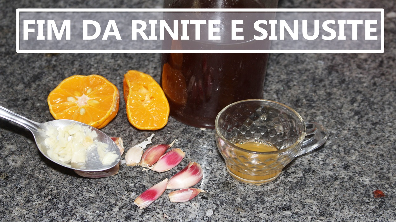 Remedio caseiro pra sinusite e rinite
