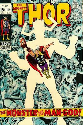 Thor #169, Galactus
