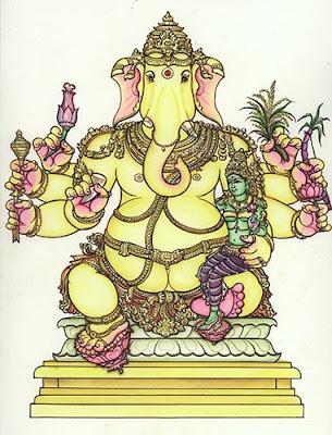 Urdhva Ganapati