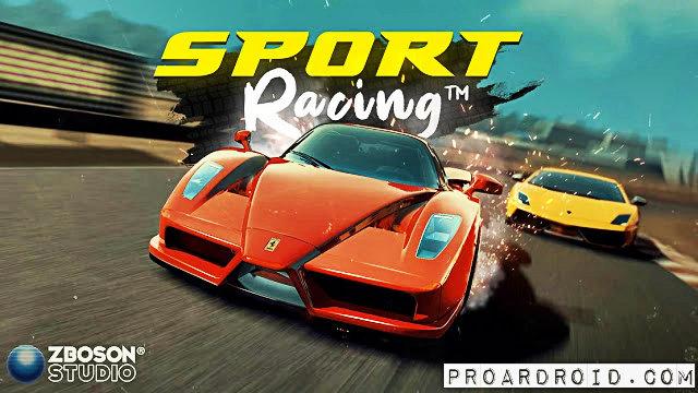 تحميل لعبة السباق Sport Racing v0.61 مهكرة للاندرويد (اخر اصدار) logo