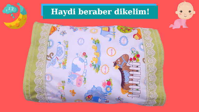 Bebek yastığı kılıfı dikimi nasıl yapılır? | Yastık dikimi | Bebek Yastığı ölçüleri