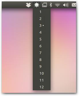 Adjust Screen Brightness For Ubuntu Unity