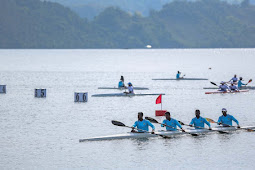 Papua, Sumbar, Sumsel dan Jabar Ikut Babak Penyisihan Cabor Dayung Kano Slalom Putra
