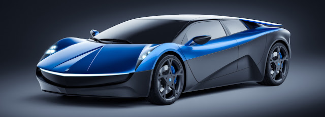 See Elextra, a Swiss-Designed Electric Supercar Built to Rival Tesla