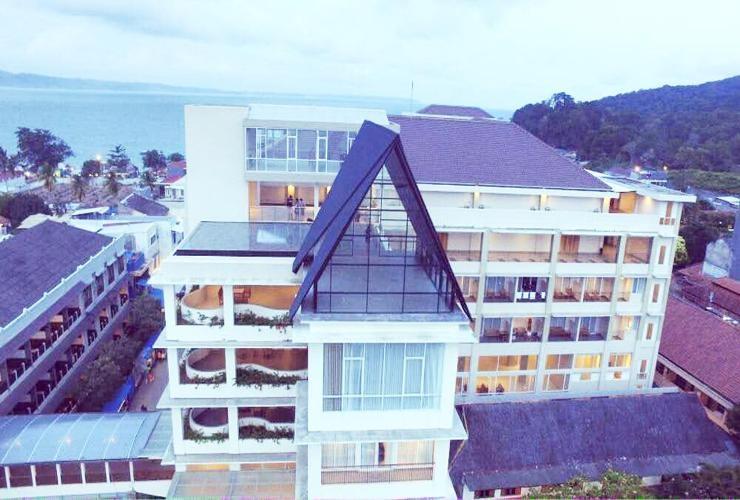 Laut Biru Resort Hotel di Pangandaran | Hotel terbaik di Pangandaran