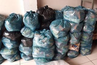 Ibicoara distribui cestas básicas