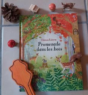 livre enfant, promenade dans les bois éditions usborne, blog planete parentage