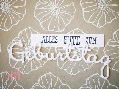 Stampin' Up! rosa Mädchen Kulmbach: Stamp Impressions Blog Hop: Heat Embossing – Geburtstagskarten mit Bunt gemischt und Framelits Schön geschrieben