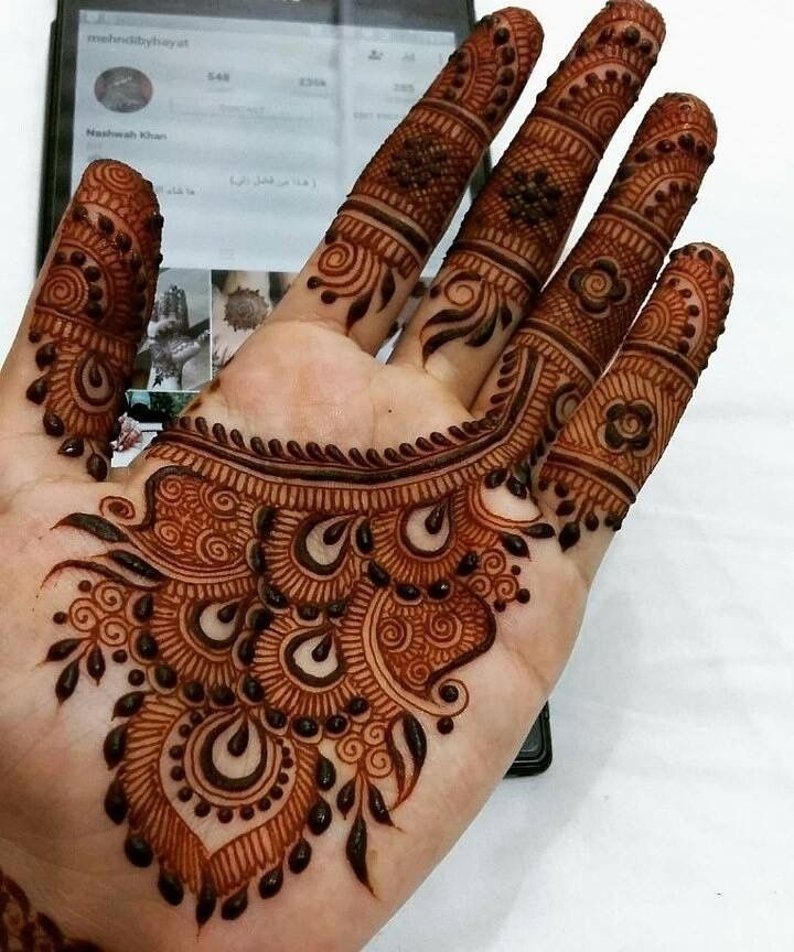 40 Latest mehndi designs to try in 2019
