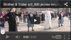 Brother & Sister act... LA FLASH MOB !