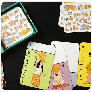 Juego de cartas infantil para aprender números batawaf