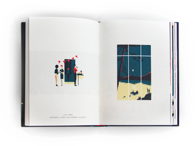 Review Through a life Tom Haugomat edita Nobrow