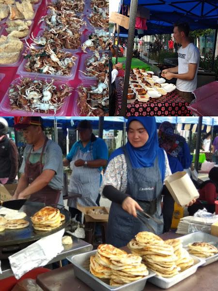 Makanan dan Minuman Yang Dijual di Pasar Ramadan Kampung Baru