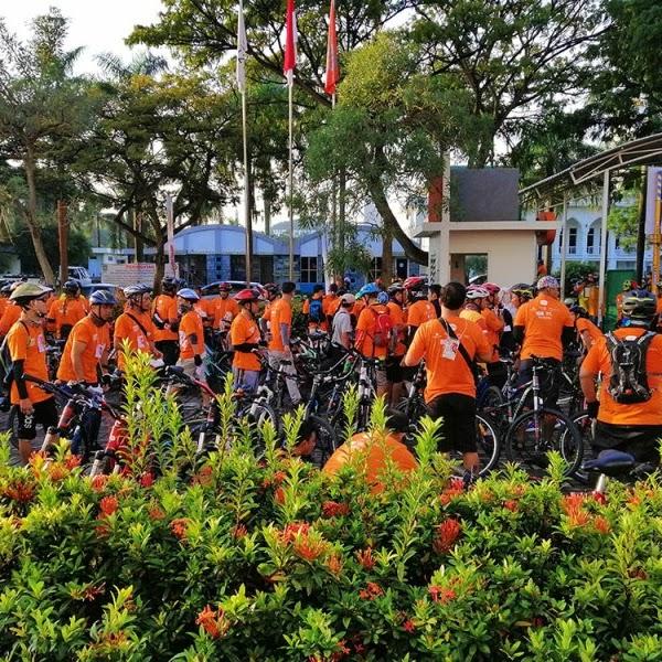 Harris Day Hari Pestanya Para Pesepeda Batam